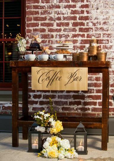 café bar mariage