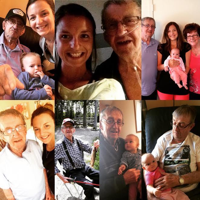 famille grand-père souvenir