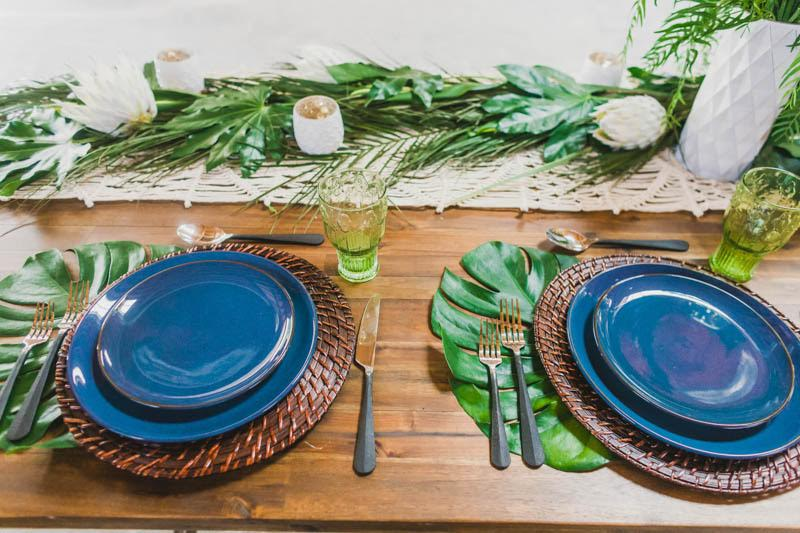 assiette table mariage