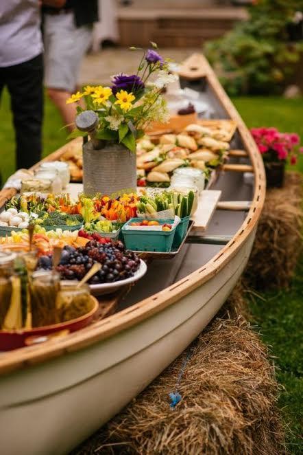 bar nourriture mariage