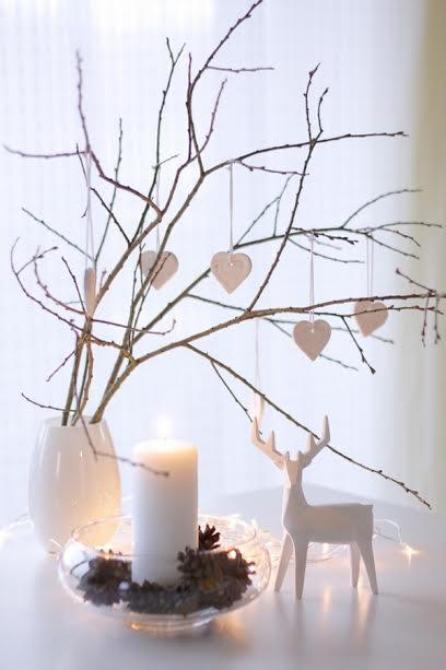 décoration chandelle épuré