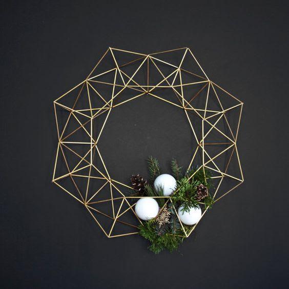 couronne or décoration