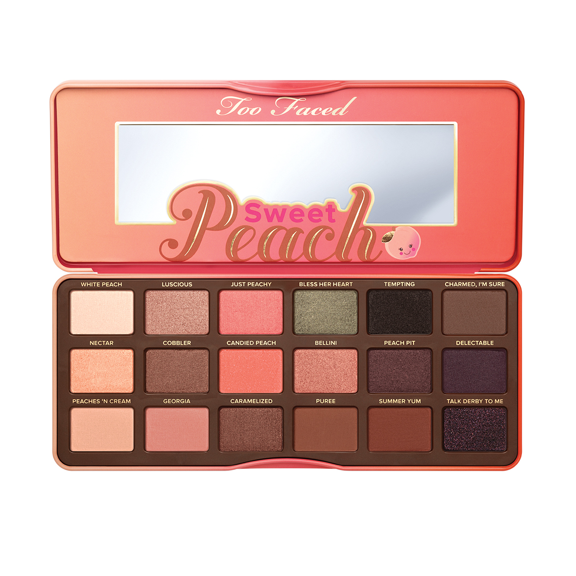 ombres à paupières peach too faced