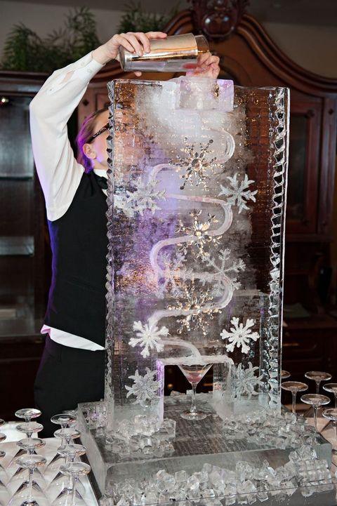 glace bar mariage