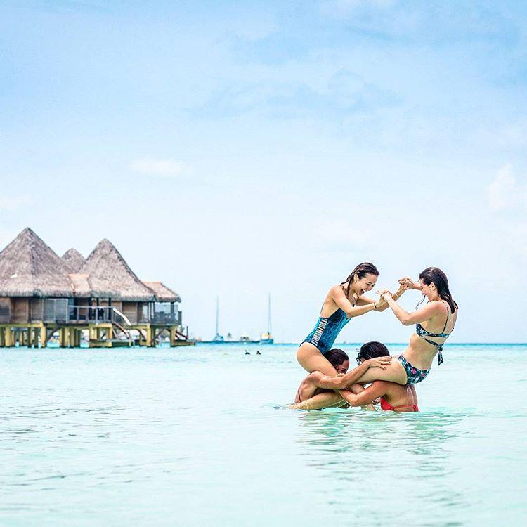 fun beach friends tahiti games