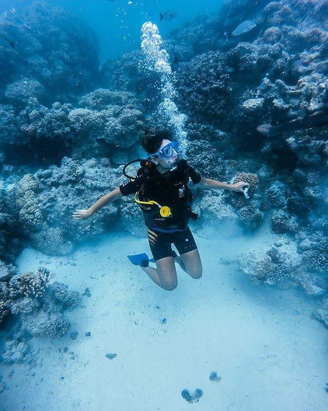 plongée tahiti récif diving scuba beach