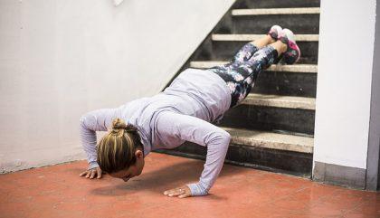 S'entraîner grâce à un escalier? Pourquoi Pas?