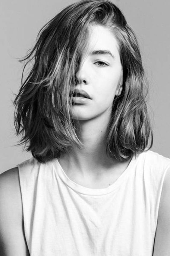 cheveux coiffure séparation