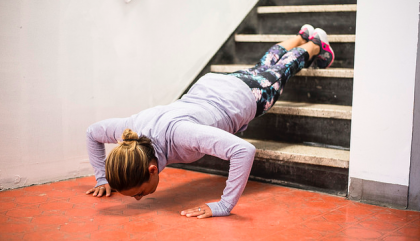 Working Out in a Staircase? Why Not?
