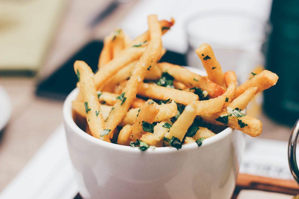 frites malbouffe santé