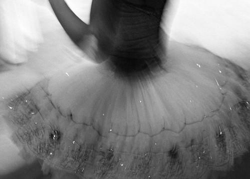 tutu, ballerine, danser