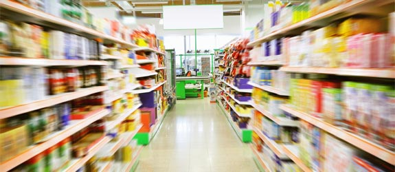 aisle, grocery store, épicerie