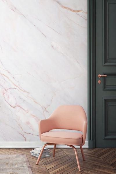 papier peint marbre décoration