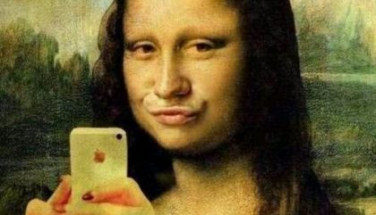 réseaux sociaux selfie