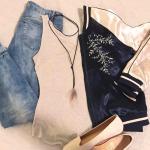 Let's Talk Fashion: Satin Bomber Jackets