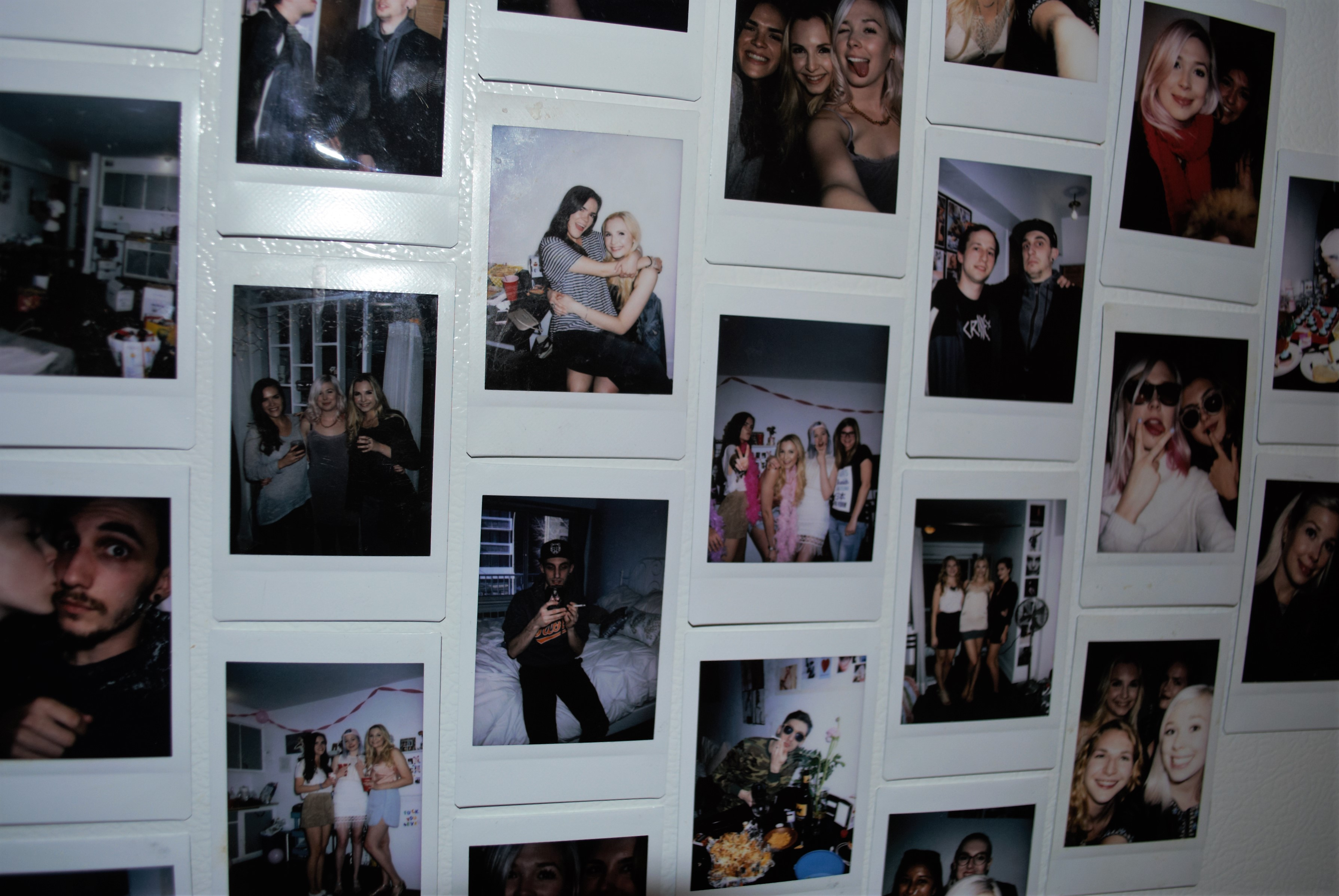 amis, friends, polaroid