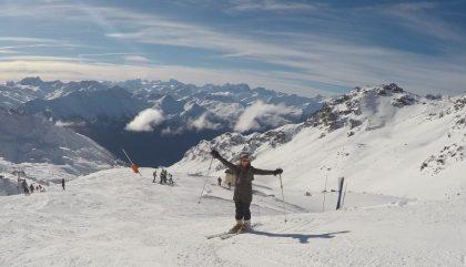 Skier au paradis