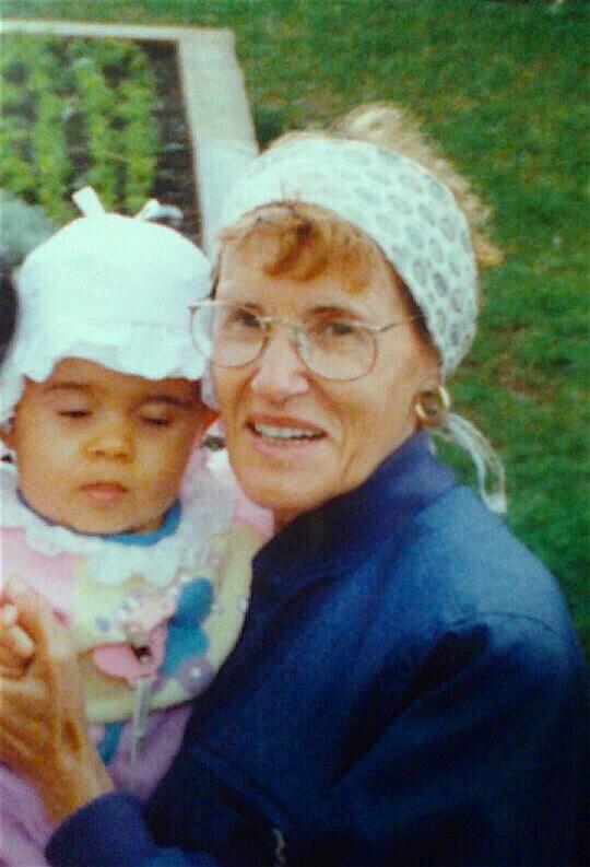 grand-mère, mom, love