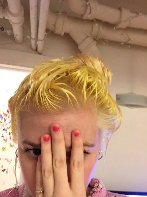 hair, girl, fail, platinum, blonde, ashy