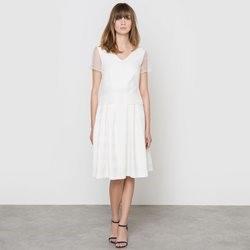 robe blanche laredoute