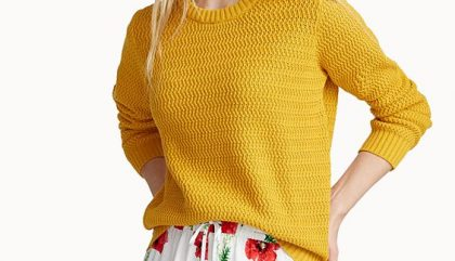 sweater jaune