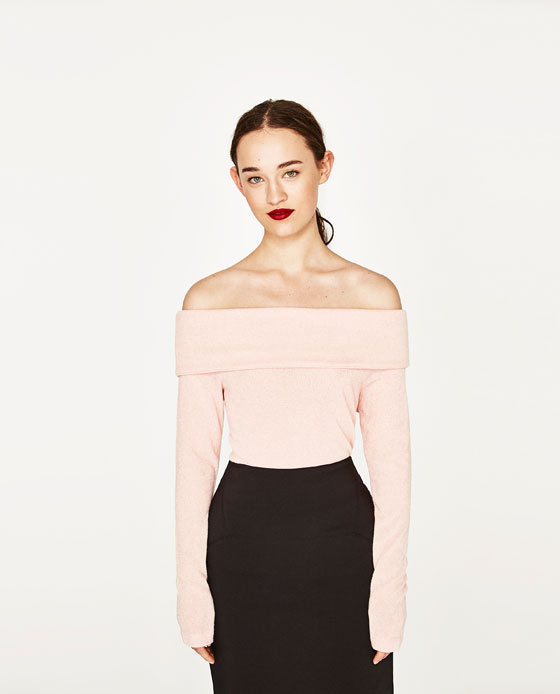 off the shoulder rose
