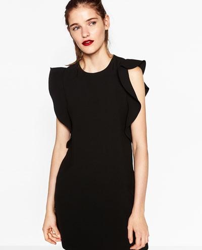 zara robe noire