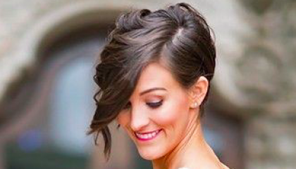 Short Hairstyles for your Wedding Day