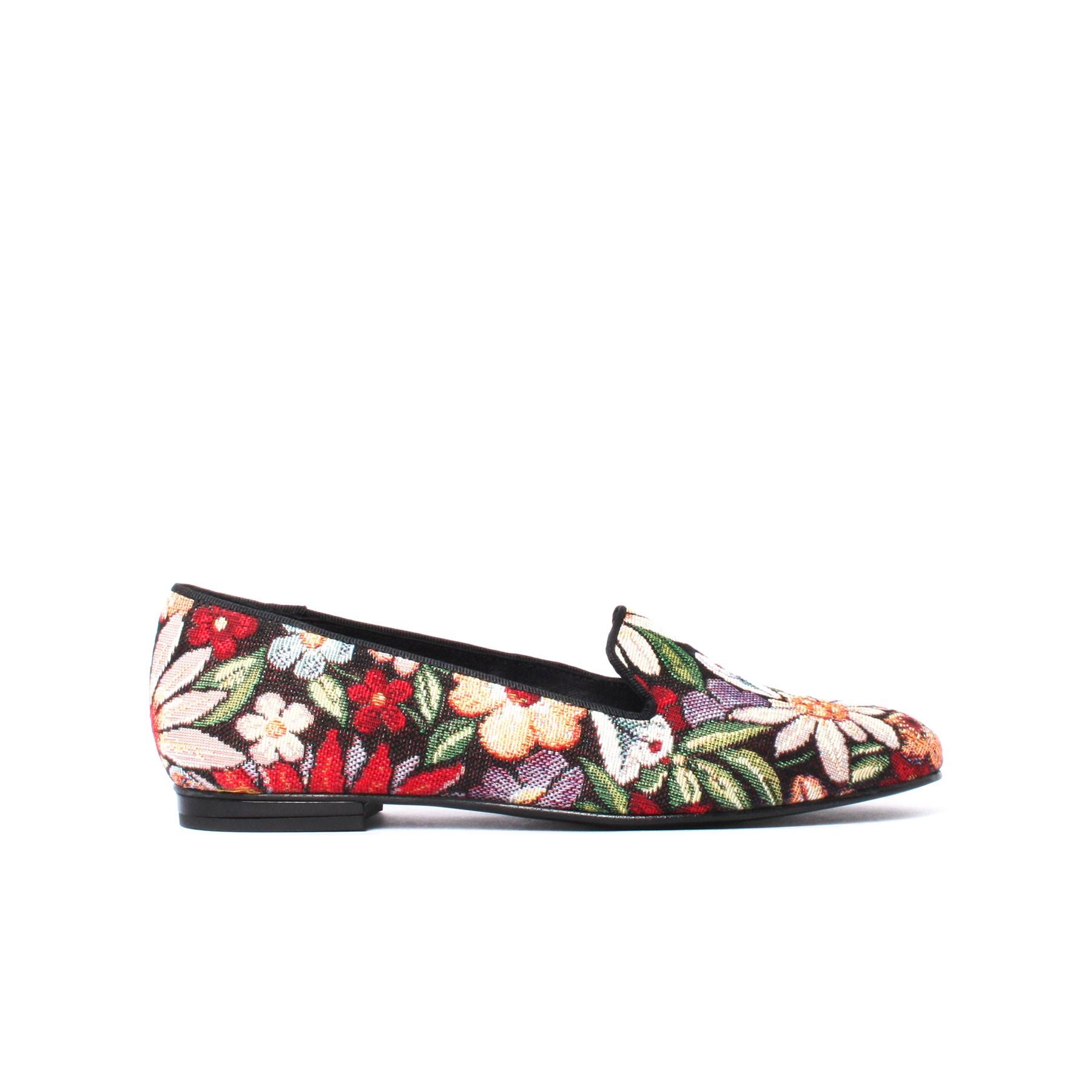 look floral, broderies, tapisserie, floraux