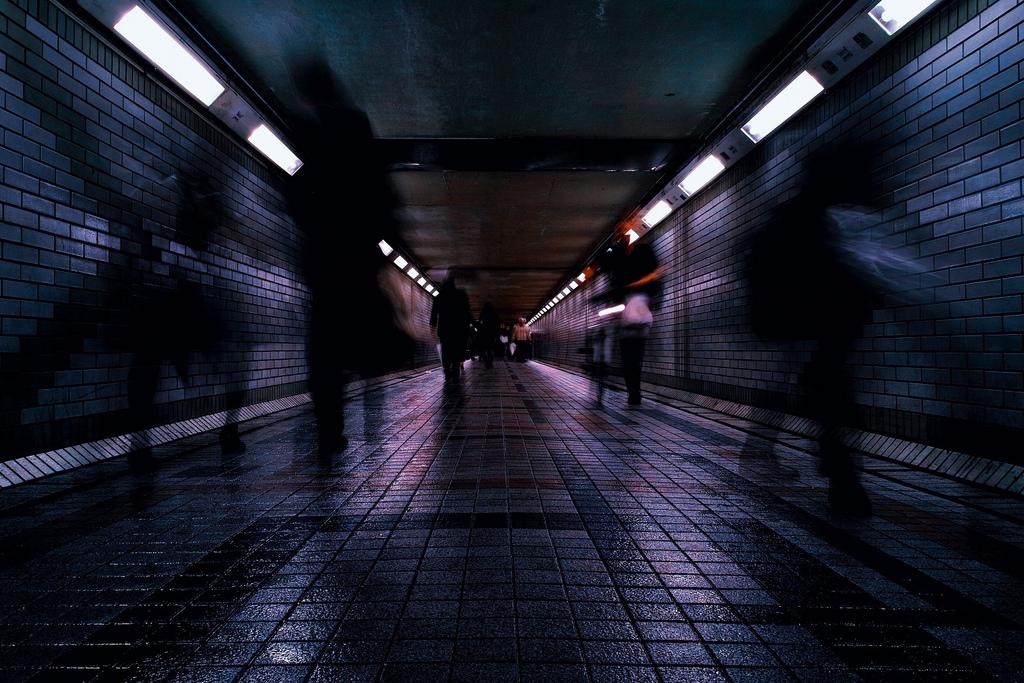 metro, life, passing through
