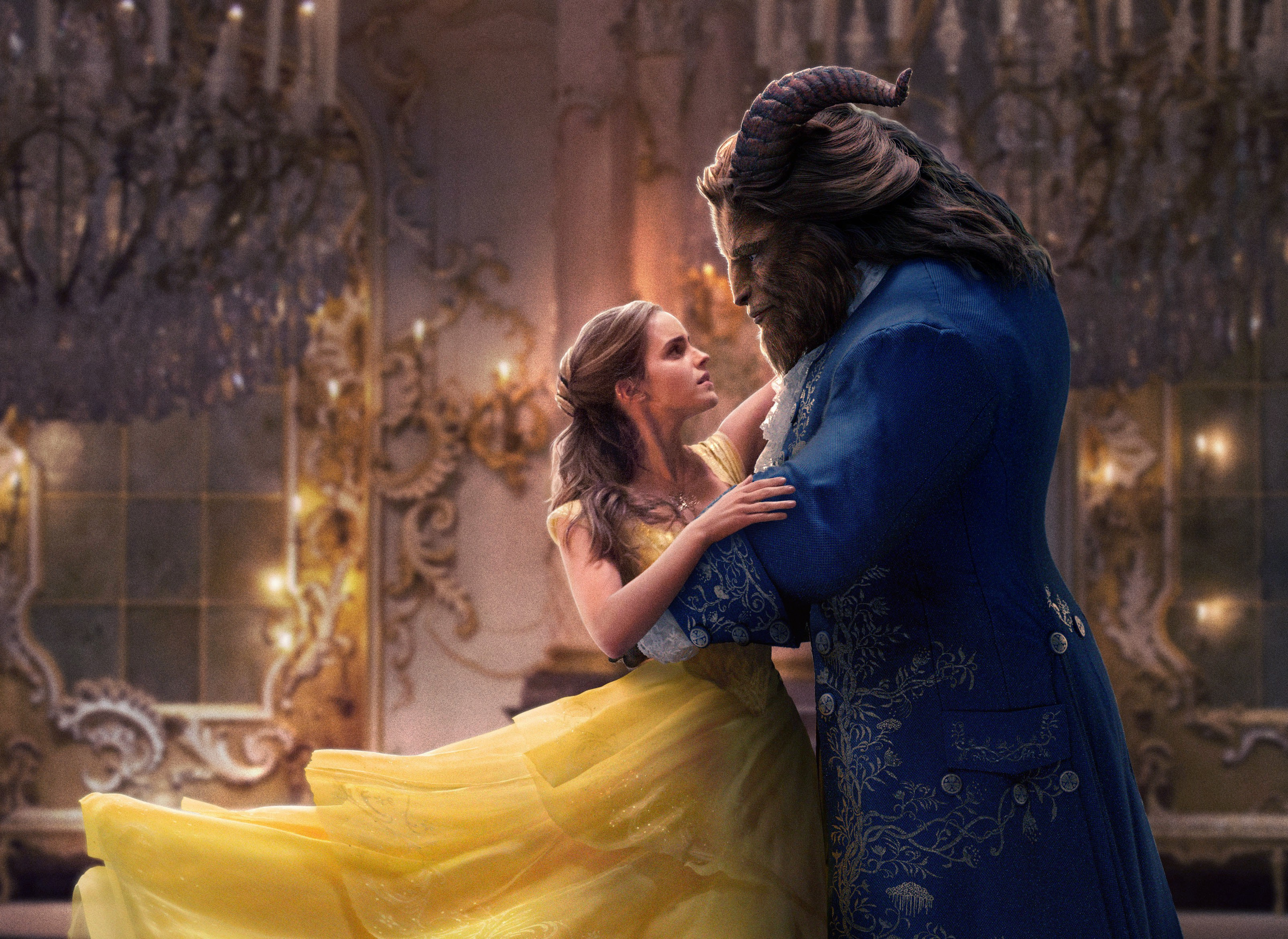 beauty and the beast, 2017, belle et la bête