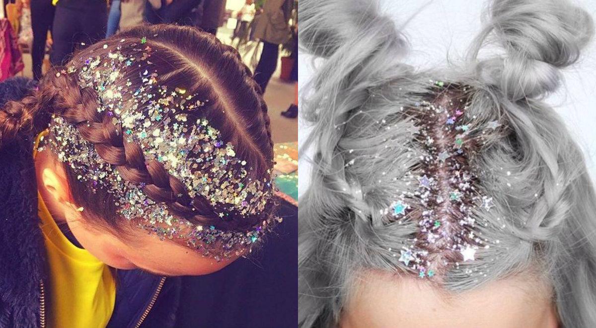 hair, hair goals, hair glitter