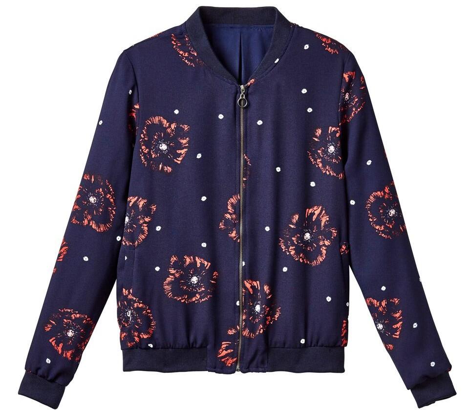 Jacket fleurie