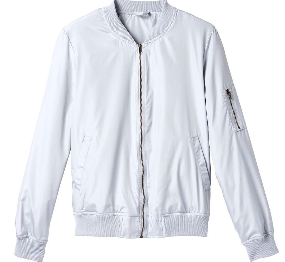 jacket blanche