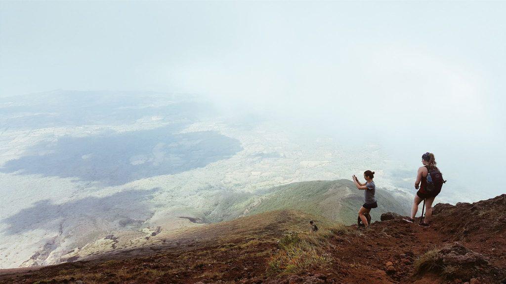 camille dg, voyage, nicaragua, concepcion, volcan