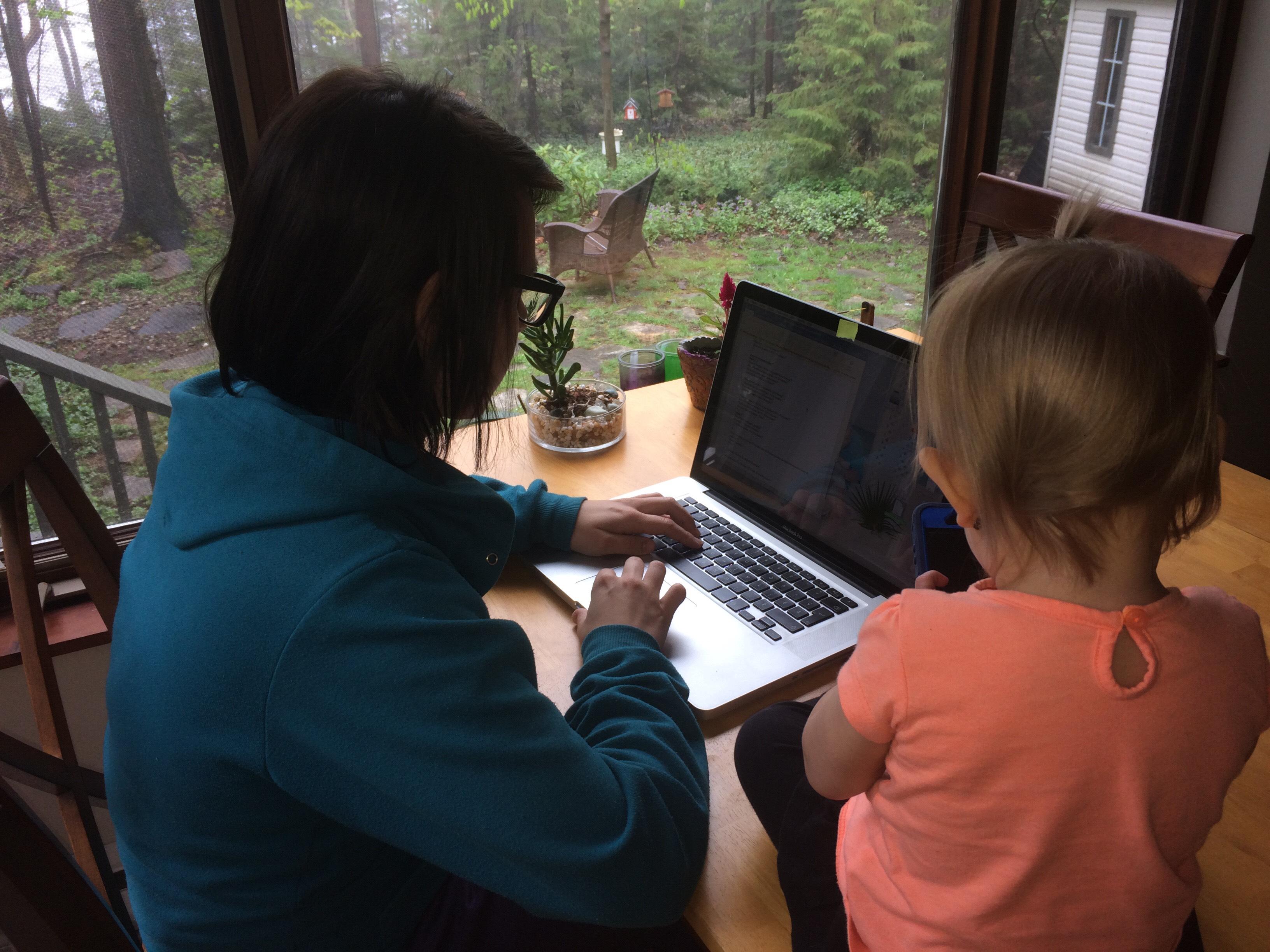 mère, fille, travail, 2017