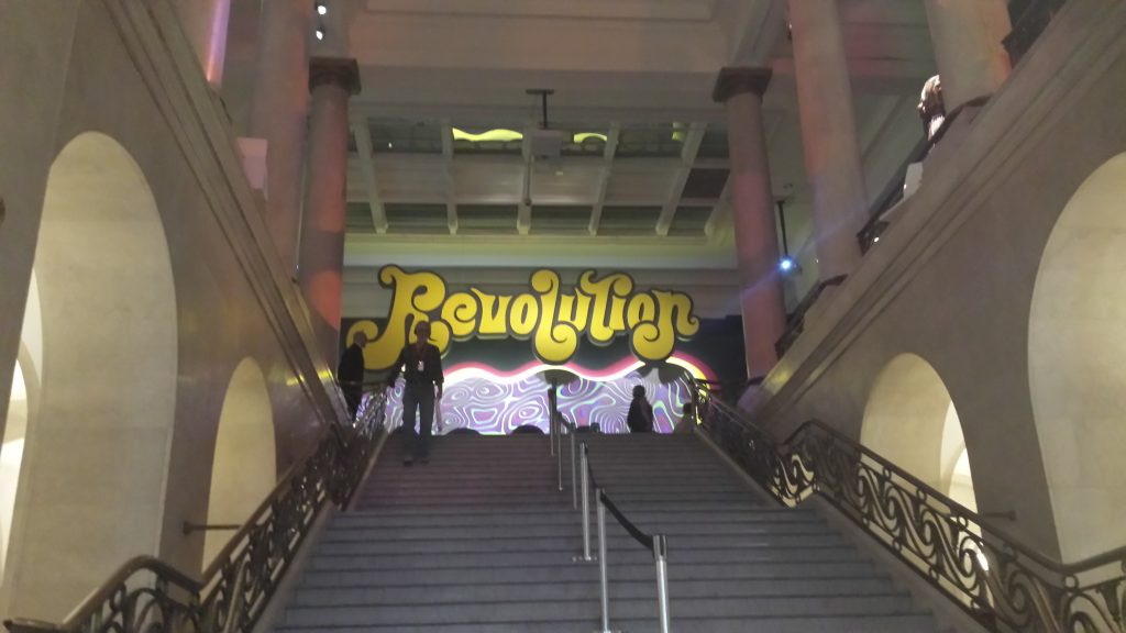 Accueil de l'exposition Révolution