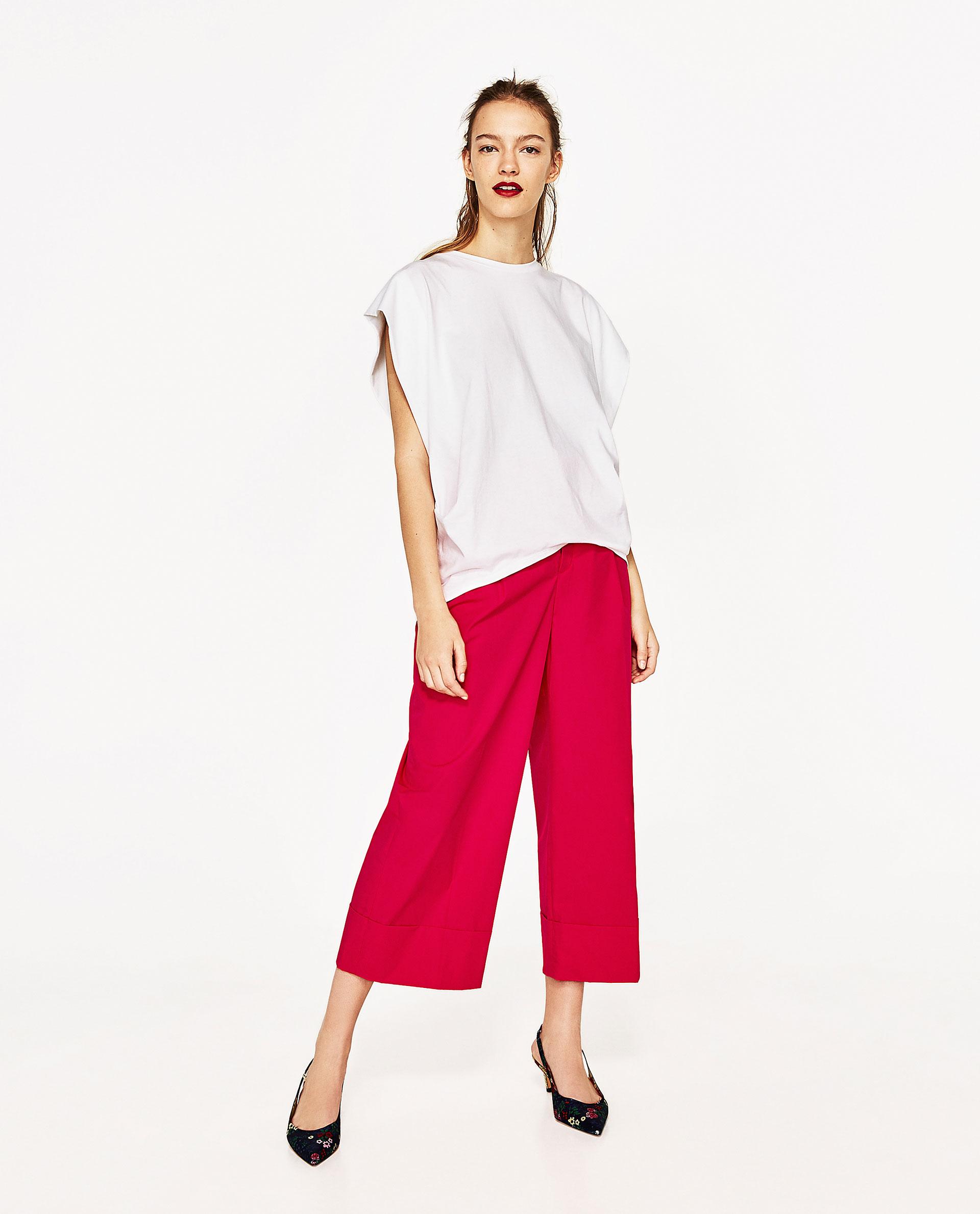 Pantalon gaucho, Mode
