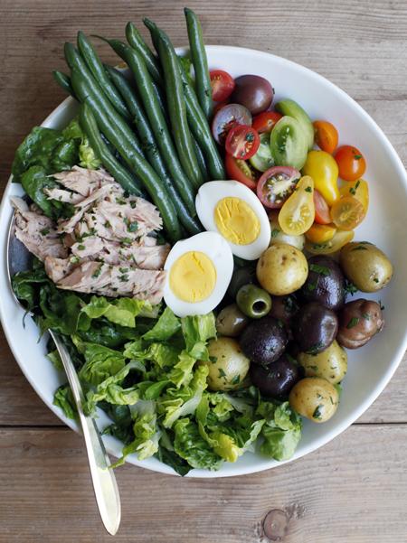 Salade, Été, Recette