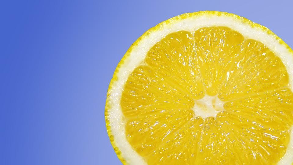 Citron, huile