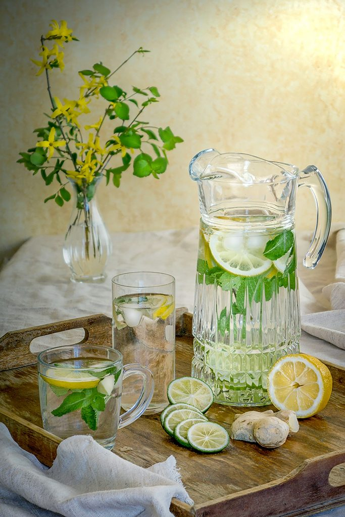 eau, alimentation saine