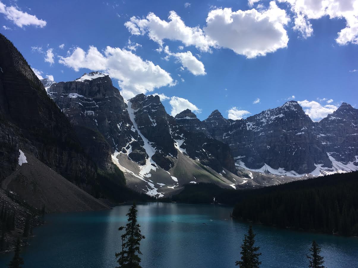 Ouest-Canadien, Voyage