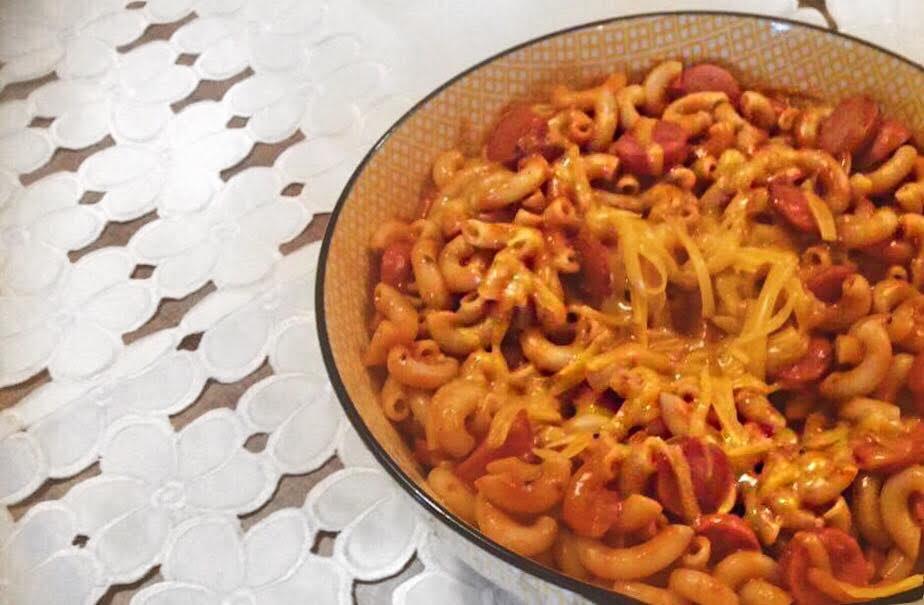 Recette, Macaroni