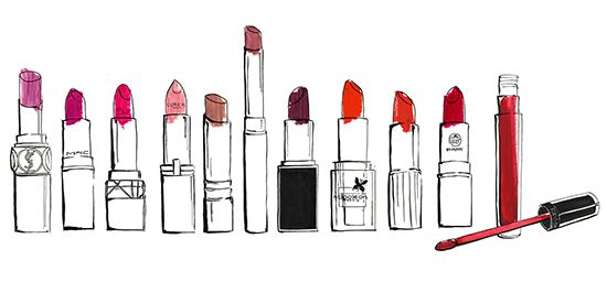 rouge à lèvre, beauté