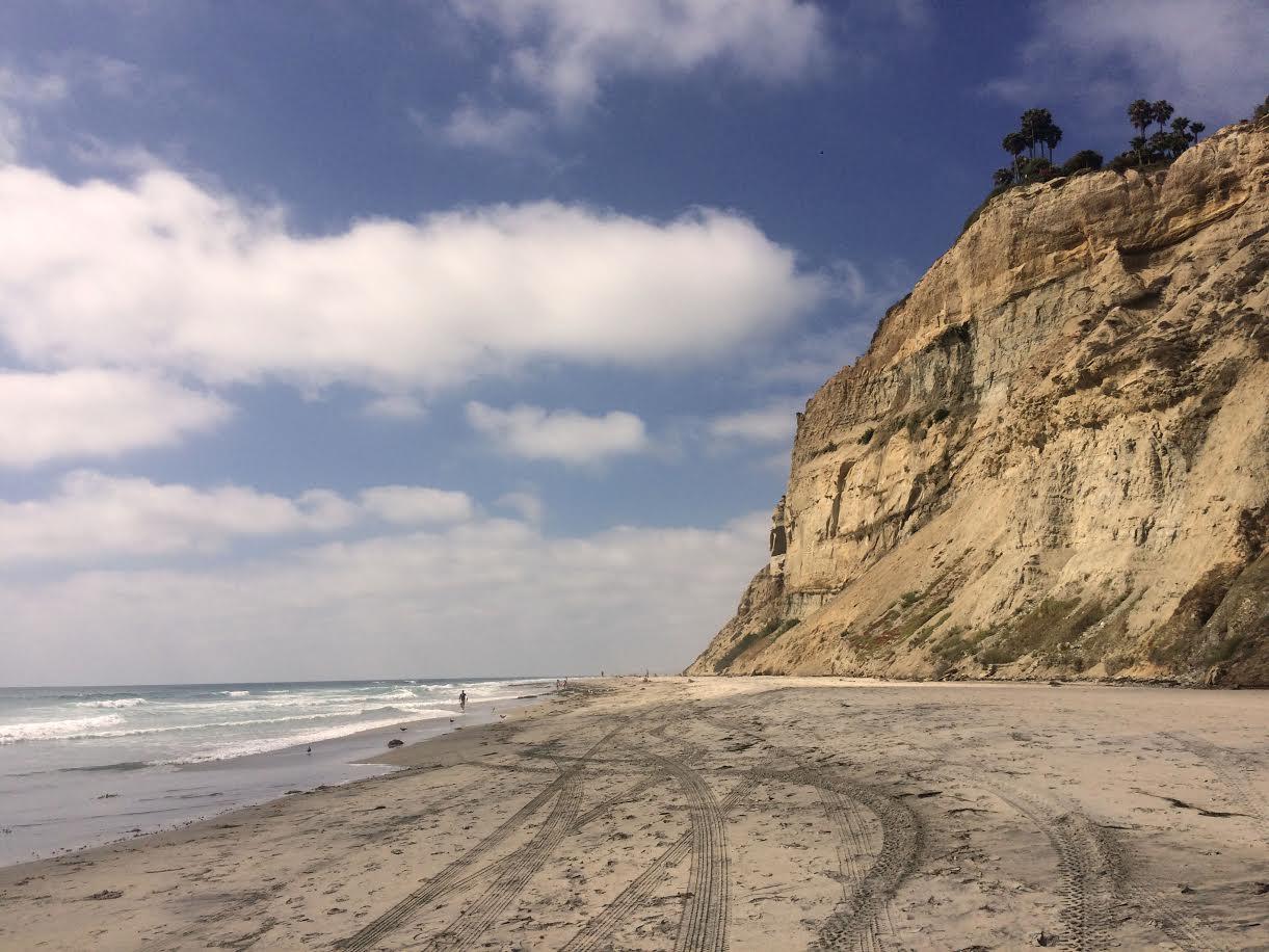Californie, Voyage