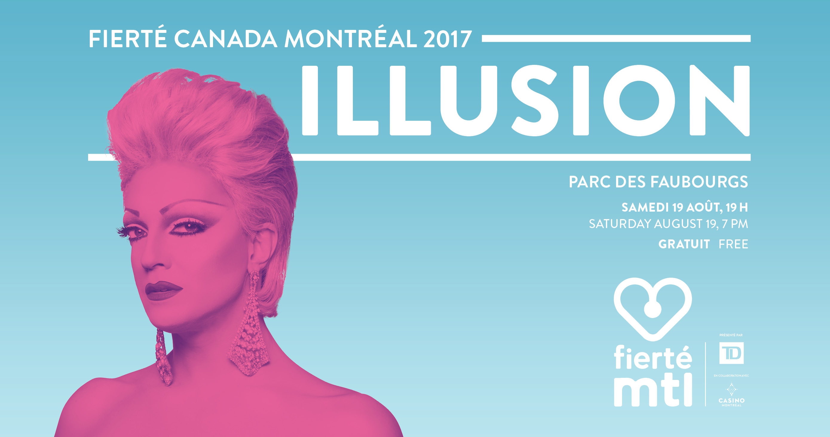 montreal pride fierté illusion drag drague