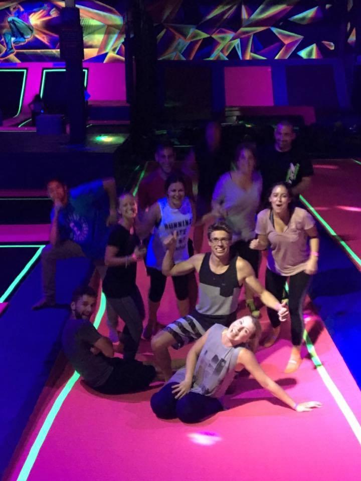 trampoline friends amis