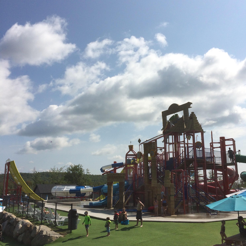 aquatique, parc, atlantide