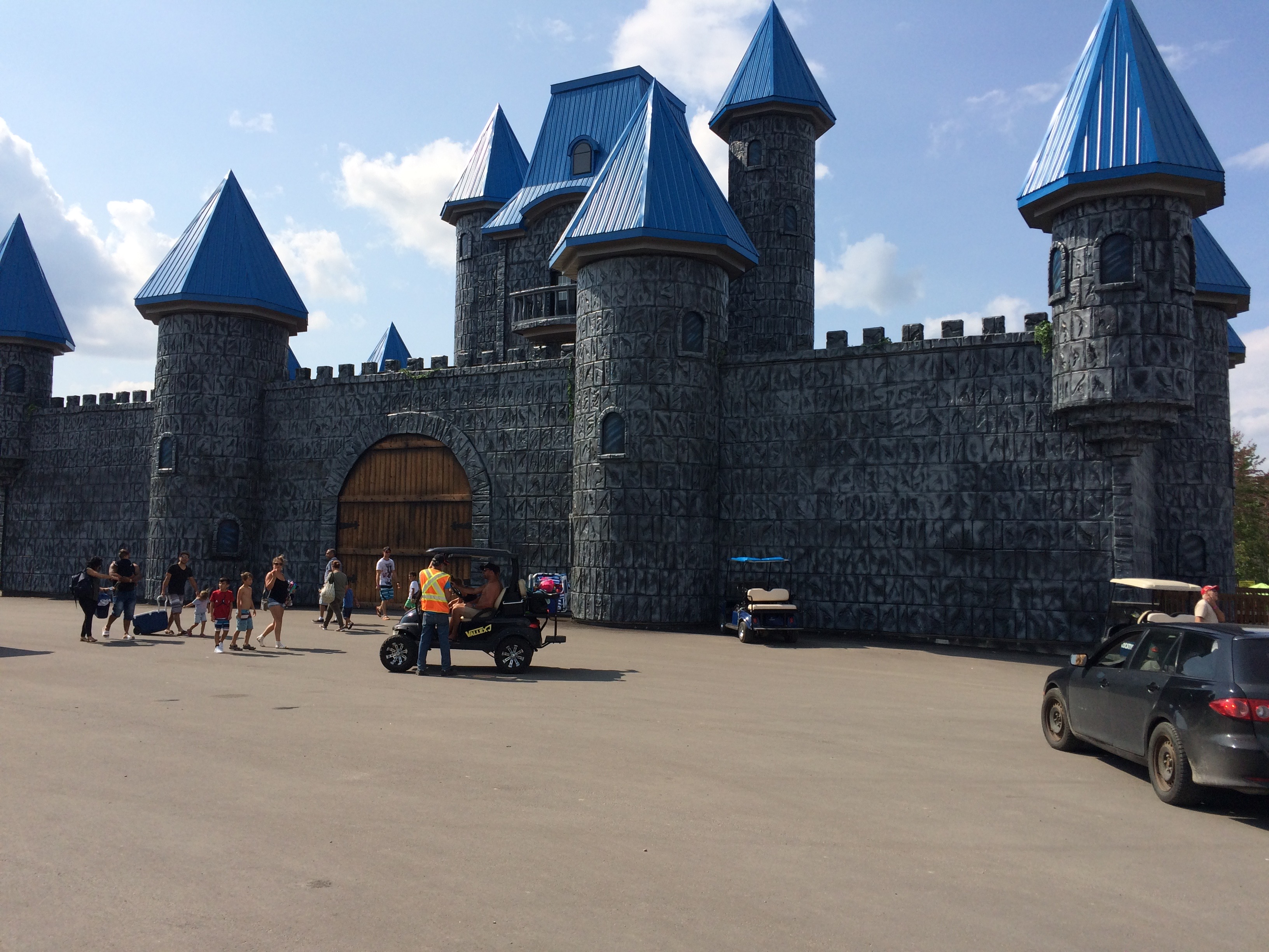chateau, magique, atlantide