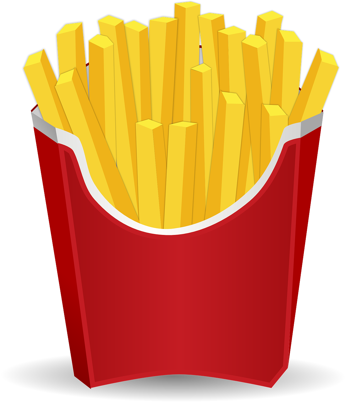 route bouffe roadtrip mcdonalds frites